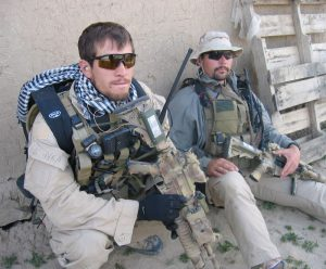 Danny Dietz in Military Uniform